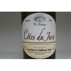 Côtes du Jura rouge cépage Savagnin 2009