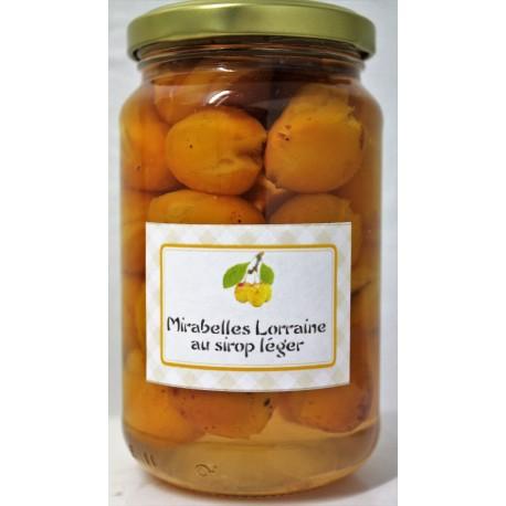 Mirabelles de Lorraine Cuites dans un sirop léger 365 g