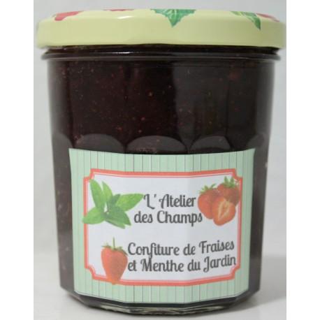 Confiture de fraises et menthe fraîches 350g
